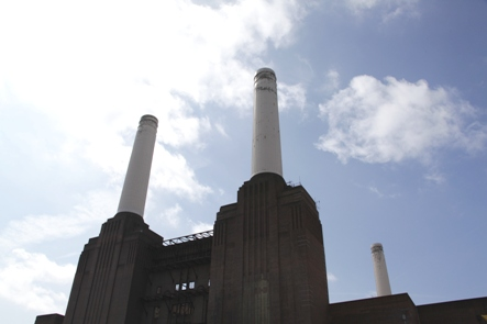 Chimneys at Battersea Power Station