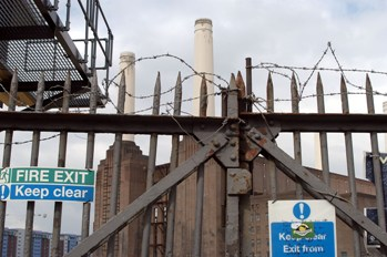 Entrance to Battersea Power Station