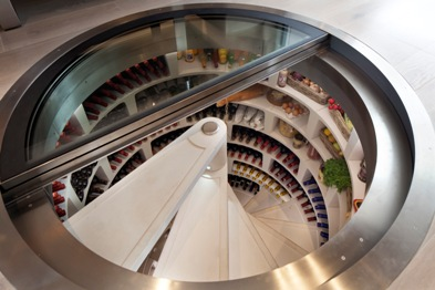 Top 10 home comforts of the rich and famous for Spiral wine cellar cost