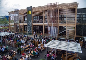 The world's largest McDonalds