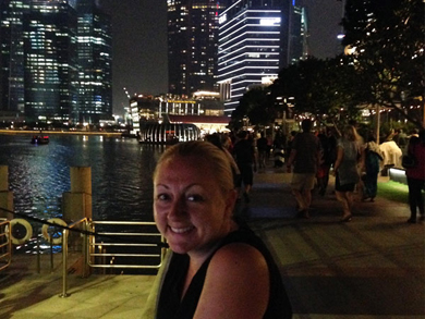 Night out in Singapore